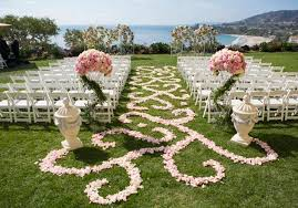 wedding trends aisles with style