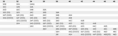 Maidenform Bralette Size Chart How Do Bra Sizes Work Bra Fit Faq Macys