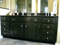 How To Stain A Bathroom Vanity Bathroom Vanity How To Refinish Stunning Refinishing Bathroom Vanity