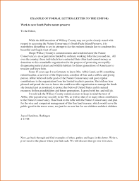 cover letter to the editor pertaining to letters to the editor examples