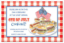 patriotic invitations templates hamburger patriotic cookout invitations barbeque invitations 20573