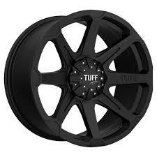 5x135 Bolt Pattern Unique Tuff T48 48x48 48x134848x4848 48mm Flat Black