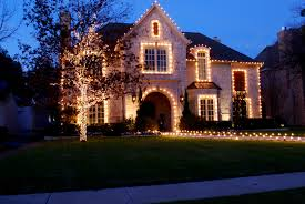 How To Install Outdoor Christmas Lights On House Residential Christmas Lighting Photo Gallery The Service Group