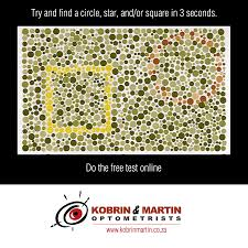 Colour Blindness Chart Colour Blindness Month What Is Colour Blindness Kobrin