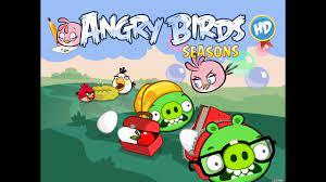 Angry Birds Seasons - Back to School Golden Eggs Walkthrough - YouTube