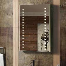 Lighted Bath Vanity Mirrors Rectangular Bathroom Led Mirror With Pvc Back Case Complete