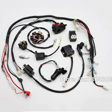 gy6 wiring harness wiring diagram wiring harness gy6 150cc 125cc electrics atv buggy scooter wire loomwiring harness gy6 150cc 125cc electrics