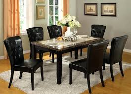round marble top dining table set amazing design faux marble top dining table set skillful dining