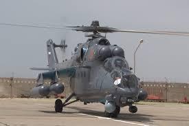 В Казахстан прибыли четыре российских вертолета <b>Ми</b>-<b>35М</b> ...