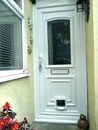 installing cat door cat flap door installing a cat flap in a glass door cat door