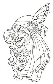Small Picture Free Adult Coloring Pages Sugar Skull Coloring Home