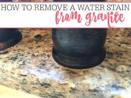 how to clean granite countertops stains water stain on granite how to clean oil stains off