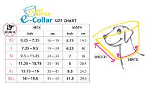 Collar Size Chart Kong Collar Size Chart Bedowntowndaytona Com