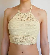 Crochet Crop Top Pattern Free