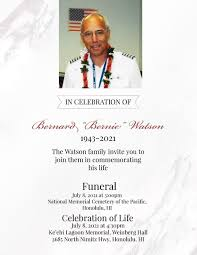 "Taps: Bernard ""Bernie"" Watson Update | Retiree News"