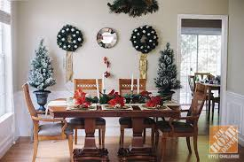 Christmas Decorating Ideas For The Dining Room Delectable Home Decor Dining Room