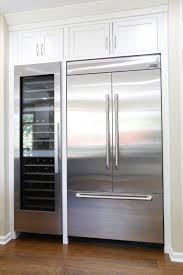 built in refrigerator. Contemporary Built Jenn Air 42u201d Integrated BuiltIn French Door Refrigerator Next To A Miele  Wine Fridge Has This Kitchen Ready And Prepared For The Everyday Most  And Built In