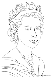 Coloring queen, brisbane, queensland, australia. Queen 106248 Characters Printable Coloring Pages