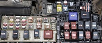 fuse box toyota camry  fuse box diagram