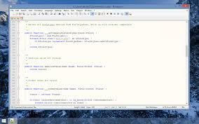 Notepad ++ screenshot 1