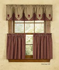 Red Curtains For Kitchen Jcpenney Kitchen Curtains Voile Rodpocket Window Tiers Ideas