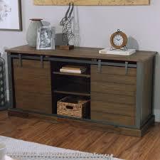 wood barn door storage cabinet world market