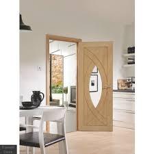 treviso oak glazed internal door