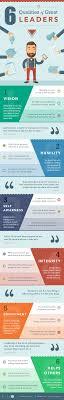 leadership infographic top qualities of great leaders leadership infographic top 6 qualities of great leaders