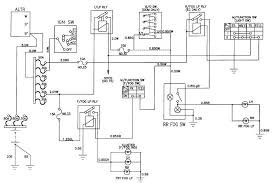 circuit and wiring diagram daewoo korando front and rear fog lamp schematic and routing diagrams