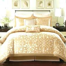 pink and gold bedding set sets luxury king size comforter white crib