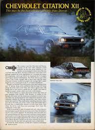 Vintage Review Chevrolet Citation X 11 Gm X Bodies Technical