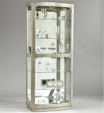 White Curio Cabinets For Sale Wall Cabinet Vintage Glass  Cheap Glass Cabinet Sale S59