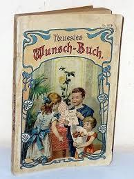 Ernst Linder: Neues Gratulations- und Wunsch-Buch (um 1910) | eBay