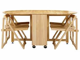 Furniture: Collapsible Dining Table And Chairs Inspirational Dining Room  Good Folding Dining Table And Chairs