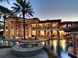 luxury mediterranean home plans