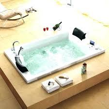 2 person tub shower combo 2 person corner tub shower combo