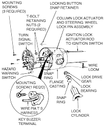 How do i replace the ignition actuator on a 1988 ford f150 w tilt rh justanswer typical ignition system diagram ignition module wire harness
