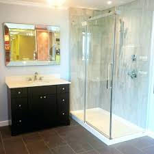 maax shower door installation shower pans our halo shower door and square base in designers maax shower door installation