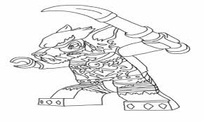 Chima Coloring Page Lego Chima Coloring Sword Pages Lennox Vs