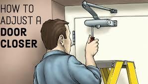 how to adjust your door closer