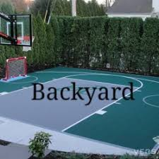 backyard ideas basketball court. flooded snapsports home basketball court to make ice hockey rink backyard ideas s