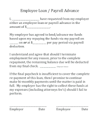 77 Best Payroll Deduction Agreement Template | Realstevierichards.com