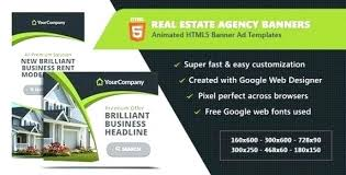 728 X 90 Banner Template Flash Ad Templates Great Free Google