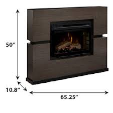 Linwood Electric Fireplace Mantel Package in Grey Rift - GDS33HL ...