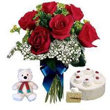 Special Birthday Gift Cake With Flowers Sri Lanka Online