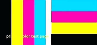 Color Printing Test Page Hp R Print Configuration Page Printer Test