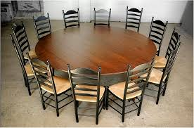 terrific large round dining table and chairs silo tree farm large round dining table seats