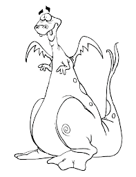 Dragon Coloring Pages Easy Activity Shelter Dragons Love Tacos
