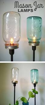 diy mason jar lamps diy mason jar crafts and ideas for holidays