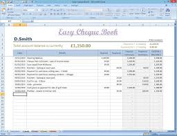 excel checkbook easy cheque book template excel finance spreadsheet money manager